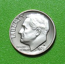 1979 S Roosevelt Dime Type 1 - Filled S Coin Value Prices, Photos & Info