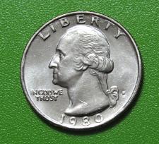1980 P Washington Quarter Coin Value Prices, Photos & Info
