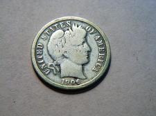 1906 Barber Dime Coin Value Prices, Photos & Info
