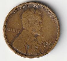 Buy 1928-S Lincoln Wheat Penny