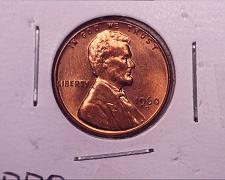 1960-D LINCOLN MEMORIAL SMALL CENT UNCIRCULATED BRIGHT RED