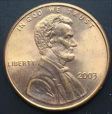 2003 P Lincoln Memorial Cent
