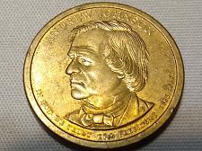 2011-P President Andrew Johnson Dollar 1 Coin