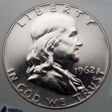 Roll of 20 Choice To GEM Proof 1961 Franklin Half Dollars Some Cameos Included
