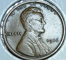 Buy 1916-P EXTRA FINE Lincoln Wheat Cent ( 110 )