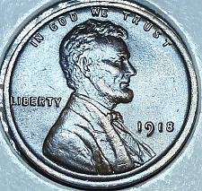 Buy 1918-P Uncirculated Lincoln Wheat Cent (118)