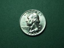 1955-D  Quarter ~ Brilliant Uncirculated ~ 90/% Silver ~ Very  Low Mintage