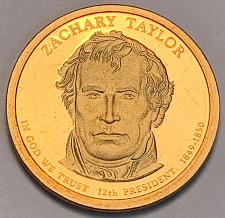 2009 P /& D 12th President Zachary Taylor MS66 First Day of Issue 2-Coin Set