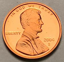 2004 S Lincoln Gem Proof Memorial Penny