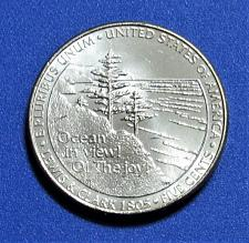 2005 BU Ocean In View P/&D Jefferson Nickel Pair From US Mint Rolls