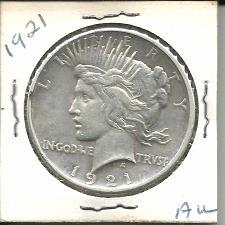 Buy 1921  P  PEACE DOLLAR