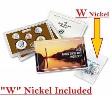 "Buy 2020-S US MINT Proof Set. Clad with extra bonus ""W"" Nickel."