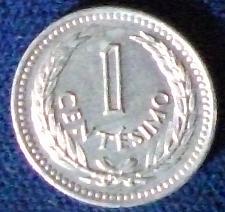 Buy 1953 Uruguay Centesimo BU