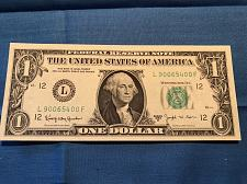 1 Note ✯ STAR NOTES ✯ $1 US Currency Random Selection Circulated Dollar Bill