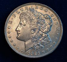 Buy 1921 CHOICE BU MORGAN DOLLAR