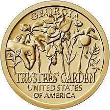 Buy 2019  P & D  AMERICAN INNOVATORS GOLDEN DOLLAR'S  --  GEORGIA