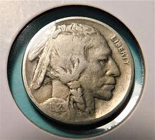 1923 Buffalo Nickel in Lower Grade Perfect Filler Original Coins DUTCH AUCTION