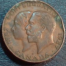 Buy Bronze Medal Canada 1867-1927