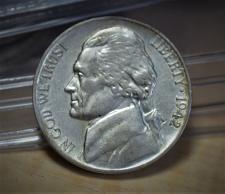 Buy 1942 P Jefferson Silver Nickel - AU