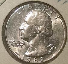 Buy 1982 D Washington Quarter