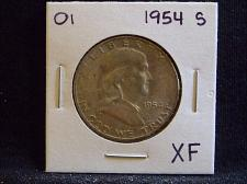 Buy 1954 S Franklin Half Dollar