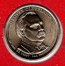 Buy 2012 D Presidential Dollars: Grover Cleveland -#5