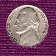 #2777 1941 P Jefferson Nickel Finish Your Book With This Circulated Coin