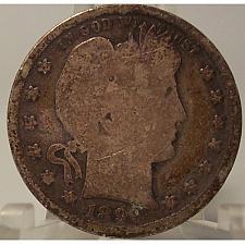 Buy 1899-S Barber Quarter G #01146
