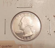 FREE SHIPPING 1987-S Proof Washington Quarter Coin PCGS PR69DCAM