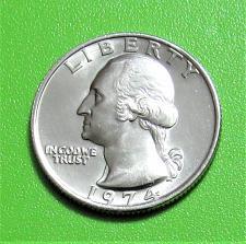 Buy 1974 25 Cents - Washington Quarter - Uncirculated