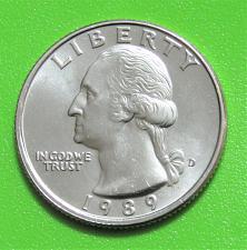 Buy 1989-D 25 Cents - Washington Quarter - Uncirculated