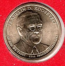 Buy 2014 D Presidential Dollars: Franklin D. Roosevelt -#2