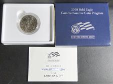 Buy 2008-S Clad Uncirculated Bald Eagle Commemorative Half Dollar