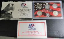 Buy 2008-S Unites States Silver Quarters Proof Set