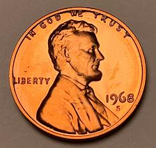 Buy 1968-S Proof Lincoln Memorial Cent [LC 218]