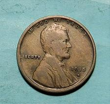 1915 D LINCOLN WHEAT CENT FREE AND PROMPT SHIPPING VF//XF//AU