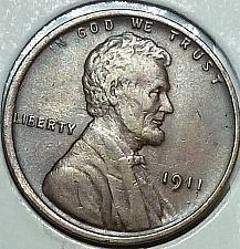 1911 1C Lincoln Wheat Cent Fine  K8470 you pick