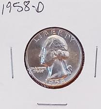 Buy 1958 D Washington Quarter - BU