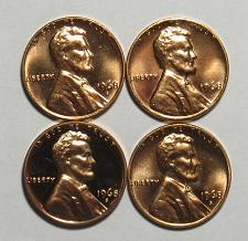 1968 P Lincoln Penny Uncirculated #21