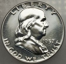 Buy 1957 P Franklin Half Dollar#13 PROOF