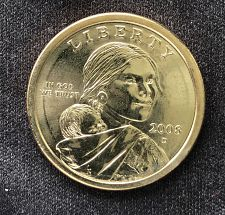2008 D Sacagawea  Native American Dollar PROMPT AND FREE SHIPPING