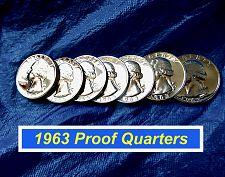 Buy 1963 Proof Washington's ⭐️ Very Minor Blemishes Proof ⭐️ (2686)