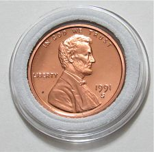 Details about  /1991 S Lincoln Memorial Cent Gem Deep Cameo Proof Penny