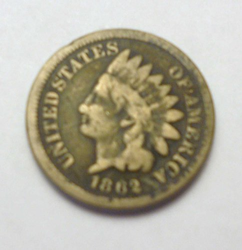 1862 INDIAN HEAD COIN