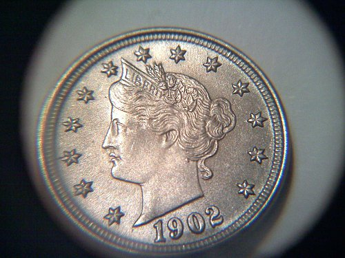 1902 liberty nickel ms-64