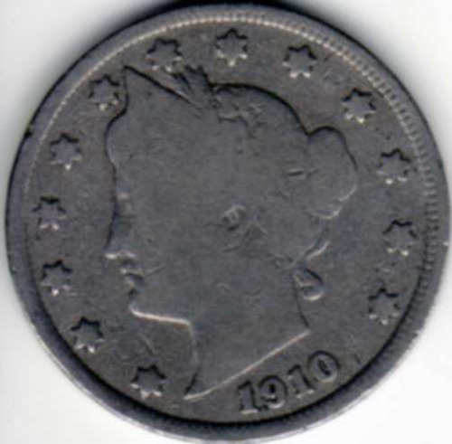 1910 Liberty Nickel Good