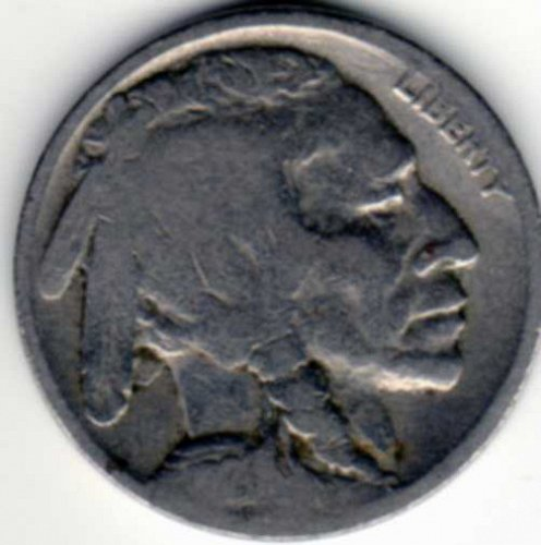 1920 Buffalo Nickel Good