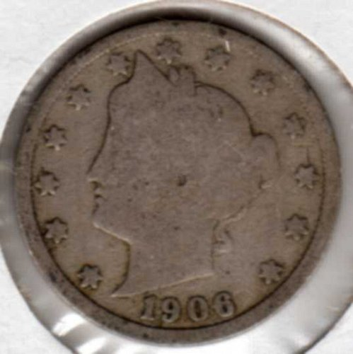 1906 Liberty Nickel Good