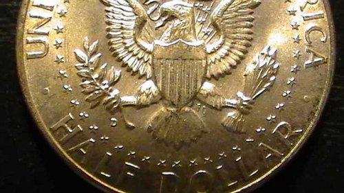 Kennedy Half Dollar- 1964, .999 Silver!