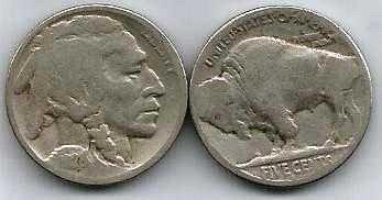 1928 US Buffalo Nickel - G